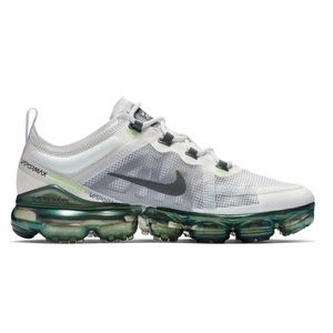 Nike Air VaporMax 2019 Premium White Platinum Lime